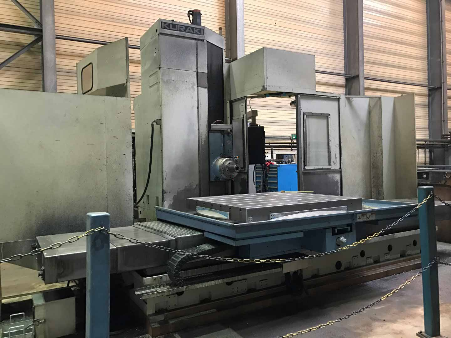 CNC Table Boring Kuraki KBT-13 DX