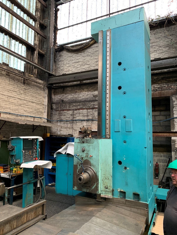 CNC Table Boring TOS WHN13 CNC
