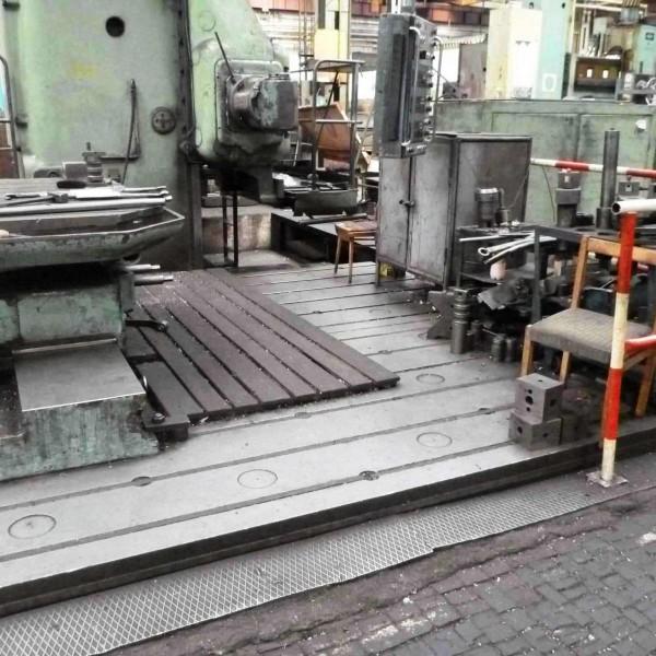 Floor plates T-sloted Skoda 8000 x 1800 T148