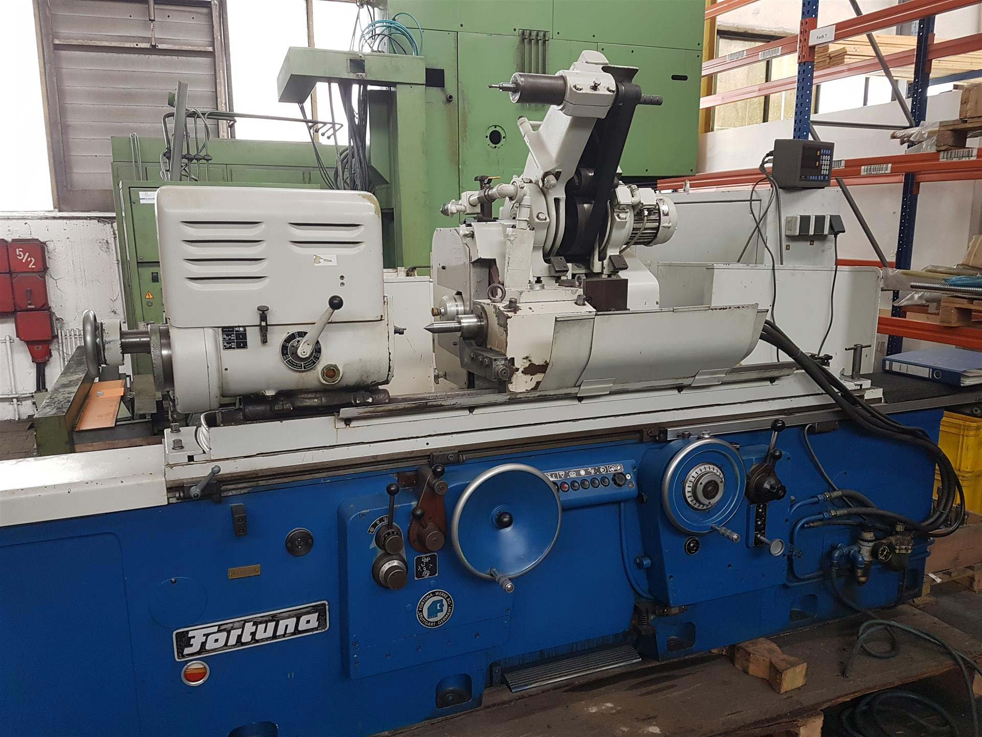Cylindrical Grinder Fortuna 350 x 1000 mm