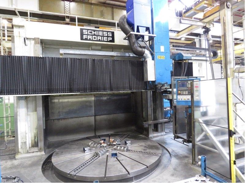 CNC VTL Schiess Froriep 32 DZ CNC