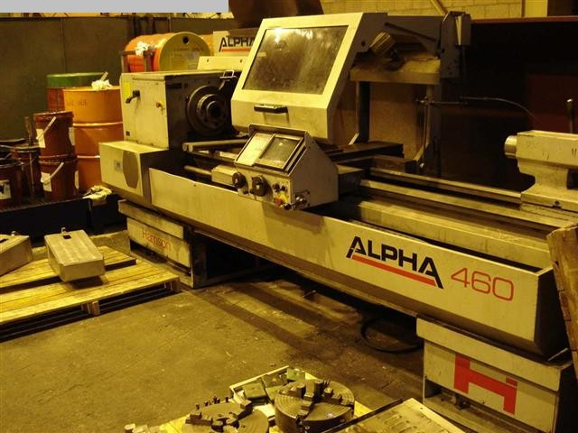 CNC Lathe HERISSON Alpha 460 L217