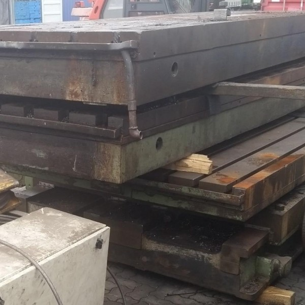 Floor plates T-sloted Berthiez 4800 x 1500 T147