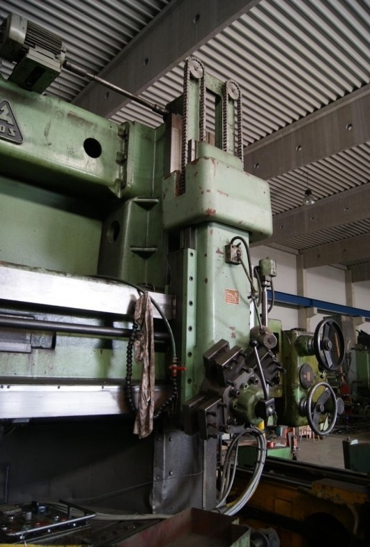 Vertical Turret Lathe - Double Column TOS SK16 1133-X148