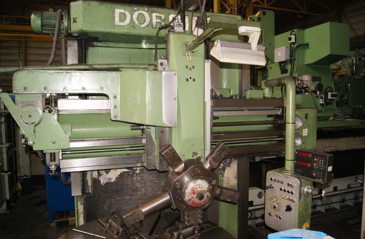 Vertical Turret Lathe - Single Column DOERRIES 1600/2050 1133-X169