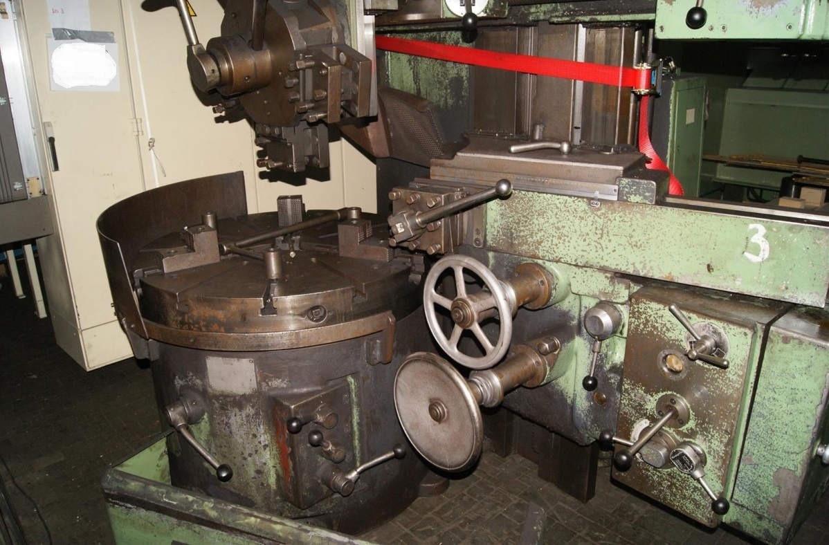 Vertical Turret Lathe - Single Column SCHIESS 13 EK 105 1133-X167